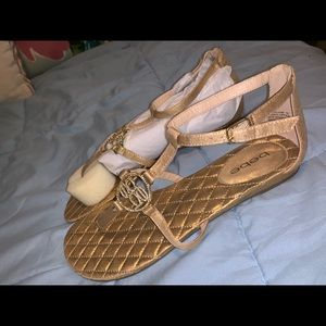 Bebe Gold sandals - Never Worn